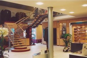 Accesso al piano superiore